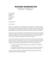 Free Word Cover Letter Template Cover Letter For Documents General