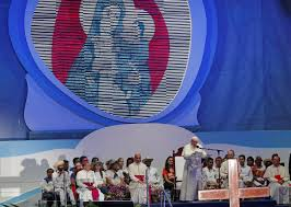 pope francis speaks as he leads world youth day pilgrims in the way of the cross
