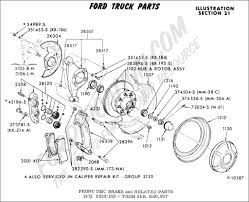 ford truck technical drawings and schematics section b brake F350 Rear Axle Diagram ford truck technical drawings and schematics section b brake systems and related components 2004 f350 rear axle diagram