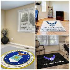 military logo rugs custom floor mats