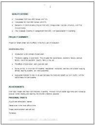 Mba Student Resume Samples No Experience Website Templates