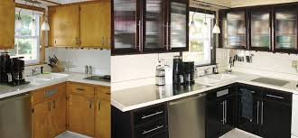 do it yourself kitchen cabinets makeover how to install new glass inserts in cabinet doors