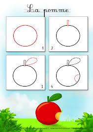 Apprendre Dessiner Fruit Pomme Jpg 1400 1980 Drawing Pinterest Dessin De Pomme L