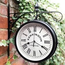 vintage wall clock outdoor clock