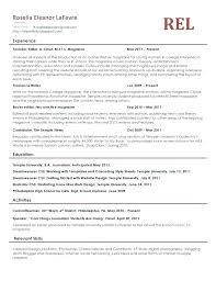 Housekeeping Resume Sample Housekeeper Example Of Ideas Description