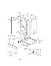 Lg Dishwasher Parts Manual Sears Parts Direct Lg Model Ldf7774st Dishwasher Genuine Parts