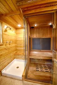Sauna in a Tiny House