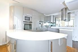 modern curved kitchen island. Modern Curved Kitchen Island In