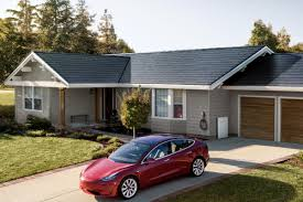 New Look Home Design Roofing Reviews Teslas New Solar Glass Roof Tiles Are The First Version