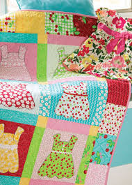 Doll dresses quilt, good to use all those baby clothes you are ... & Doll dresses quilt, good to use all those baby clothes you are saving Adamdwight.com