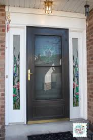 door window clings stained glass sidelight window clings how to nest for less