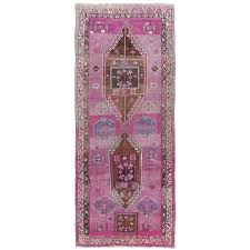 vintage turkish runner rug for