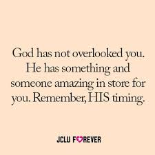 God Has Not Overlooked You | JCLU Forever Quotes | Pinterest | God via Relatably.com