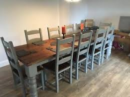 image is loading 10 12 seater large farmhouse dining table 10