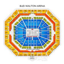 Arkansas Razorback Basketball Arena Seating Chart