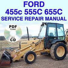 ford 455c 555c 655c tractor repair shop service manual tlb loader ford 455c 555c 655c tractor service manual tlb best sea