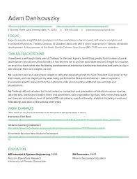 Tableau Developer Resume - Adam Danisovszky. Adam Danisovszky  https://www.linkedin.com/in/adamdanisovszky https ...