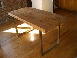office wood table. DIY Reclaimed Wood Working Table (via Instructables) Office