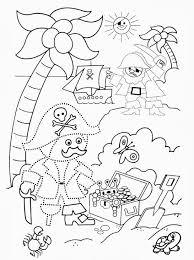 Kleurplaat Piraten Juf Stephanie