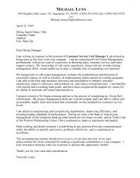 Customer Service Call Center Cover Letter Examples Https With