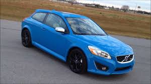 volvo c30 r design. in wheel time looks at the 2013 volvo c30 t5 rdesign polestar limited edition review youtube r design v