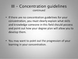 planning and writing your rationale essay fall  11 iii concentration