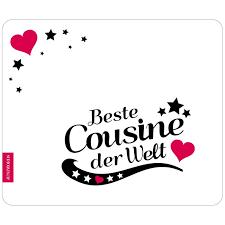 Mousepad Beste Cousine Motiv 8