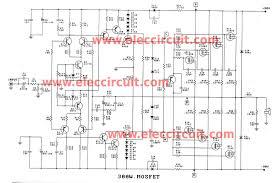 300 1200w mosfet lifier for professionals projects circuits car lifier schematic diagram 300 watt 1200 watt