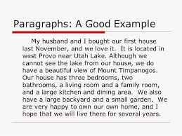 Writing A Five Sentence Paragraph Ppt Download