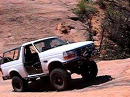 full size bronco 1994 fullsize bronco climbing launch pad in moab youtube