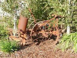 unique garden decor gostou rusty farm yard decor  rusty farm yard decor