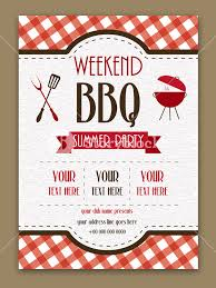 Barbeque Invitation Weekend Bbq Party Invitation Summer Party Flyer Barbecue Template