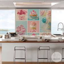 cupcake wallpaper for kitchen. Fine For Kitchen Wall Decor Ideas 140 Best Design Images On Pinterest In Cupcake Wallpaper For E