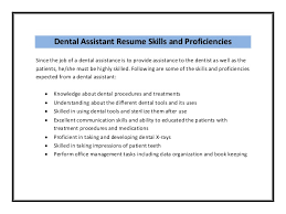 dental assistant job description sample dental assistant resume sample pdf