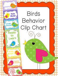 Birds Chart For Kindergarten Behavior Clip Chart Behavior Management Birds 2 Behavior