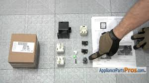 lg refrigerator relay and overload kit. refrigerator compressor starting device kit (part #8201786)-how to replace - youtube lg relay and overload r