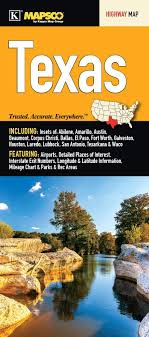 Interstate Mileage Chart Texas State Fold Map Kappa Map 9780762592739 Amazon Com