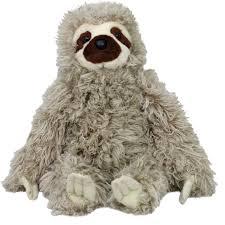 wild republic sloth plush toy cuddlekins