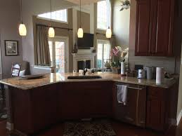Typhoon Bordeaux Granite Kitchen Kitchen Granite Countertops Cityrock Countertops Inc Raleigh