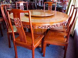 solid rosewood furniture 54 diameter round table set chinese style with designs 11