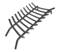 com extra thick steel fireplace grate w 9 bars 36 inches length home kitchen