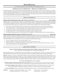 Pharmaceutical Sales Sample Resume Good Resume Format