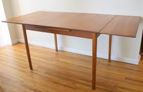 Mid Century Wall Decor Dining Room Mid Century Dining Table With Brown Wooden Floor And
