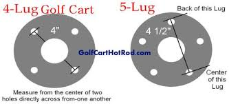 What Is Bolt Pattern Enchanting What Is The Wheel Bolt Pattern For Golf Cart EZGO Club Car Or