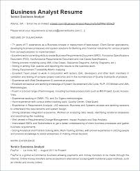 Resume For A Business Analyst Business Analyst Resume Indeed Why You Should Not Go To