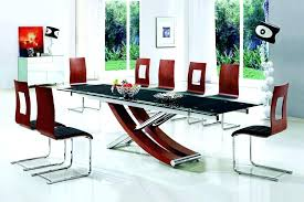 glass table dining set glass top for dining table extendable glass dining table set