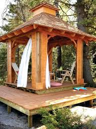 outdoor wooden gazebo steel large wood plans wooden gazebo round patio backyard outdoor