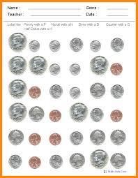 Identifying Coins Worksheets | Homeschooldressage.com