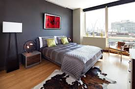 unique bedroom lighting. unique table lamps bedroom modern with black accent wall circular lighting