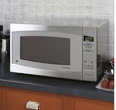 jes2251sjss ge profile 2 2 cu ft capacity countertop microwave stainless steel